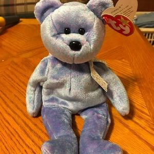 Ty beanie baby. Clubby II with tag errors. Rare.